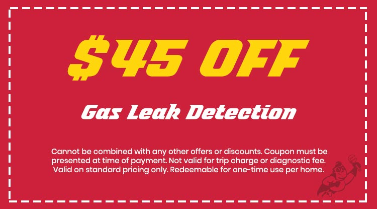 Discount on Gas Leak Detection