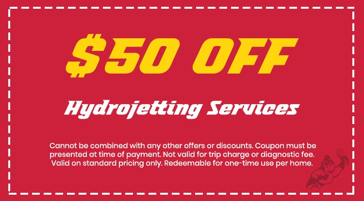 Discount on Hydrojetting Services
